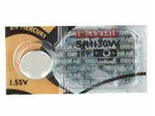 Maxell SR1130W 389 79mAh 1.55V Silver Oxide Button Cell Battery - Hologram Packaging - 1 Piece Tear Strip, Sold Individually