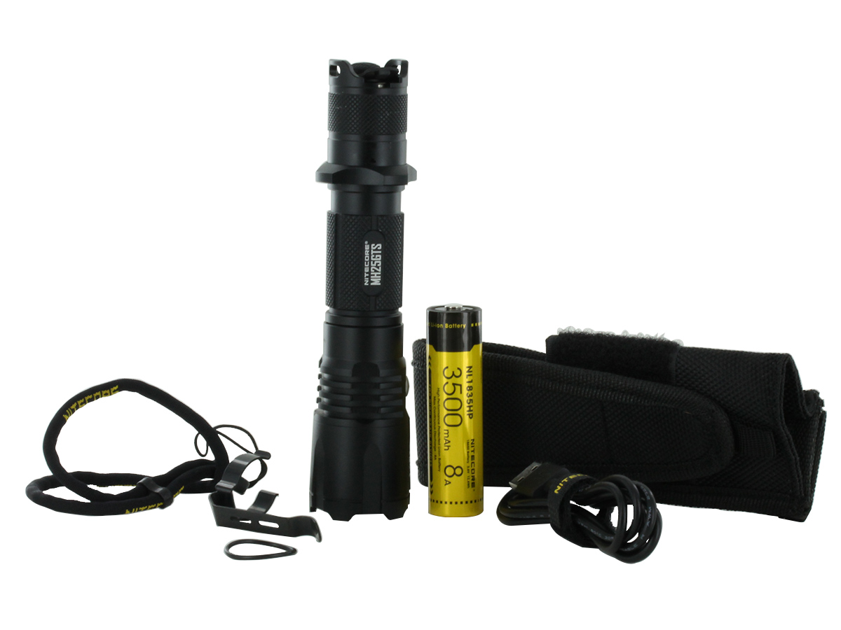 Nitecore MH25GTS LED Flashlight 1800 Lumens