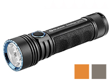 Olight Seeker 2 Pro Rechargeable LED Flashlight - 3 x CREE XP-L - 3200 Lumens - Includes 1 x 5000mAh 21700 - Black, Desert Tan, or Orange
