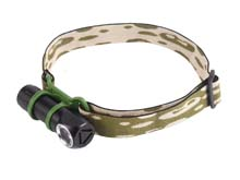 Jetbeam HR10 Rechargeable LED Headlamp - CREE XP-L HD - 700 Lumens - Uses 1 x 18350 or 1 x 16340 or 1 x CR123A