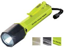 Pelican SabreLite 2010 LED Flashlight - 161 Lumens - Uses 3 x Cs - Class I Div 1 - Yellow, Black, or Glo