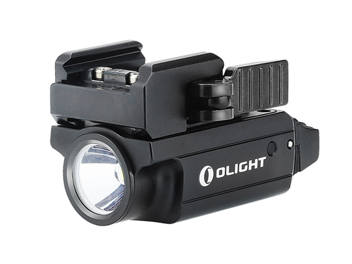 Forward facing, side angle of Olight PL MINI Valkyrie 2