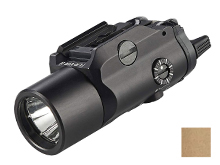 Streamlight TLR-VIR II Weapon Light - 300 Lumens - IR Laser - Box - Includes 1 x CR123A - Available in Black or Coyote Tan