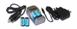 Rechargeable Li-Ion Battery Charger Combos
