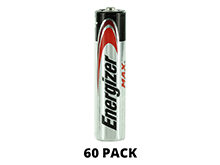 Energizer Max E92 (60PK) AAA 1.5V Alkaline Button Top Batteries - 60 Pack