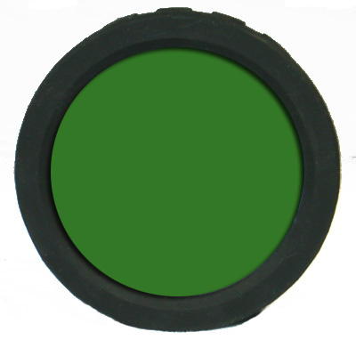 AE Light Green Filter front view