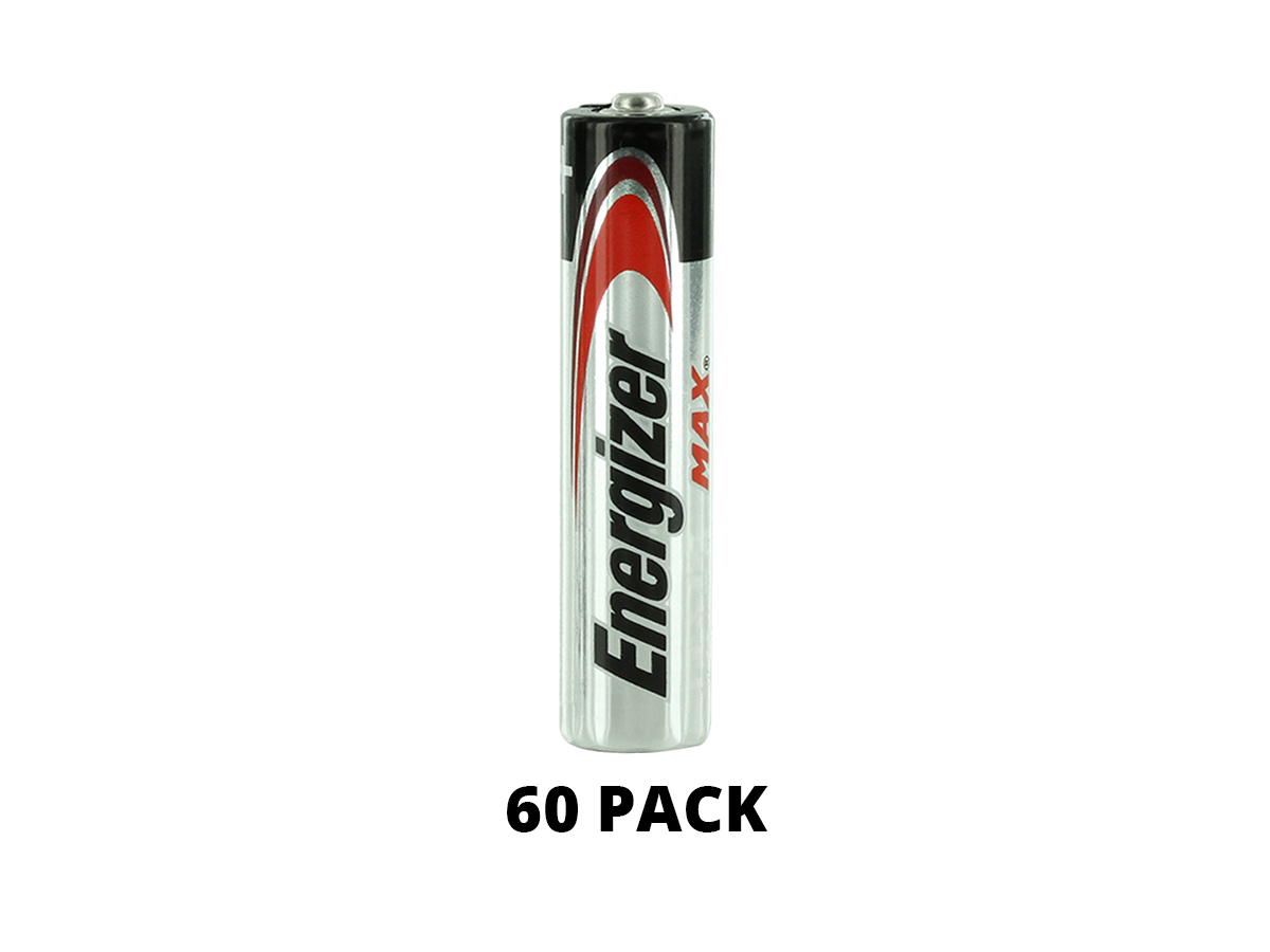 Energizer E92 AAA battery upright