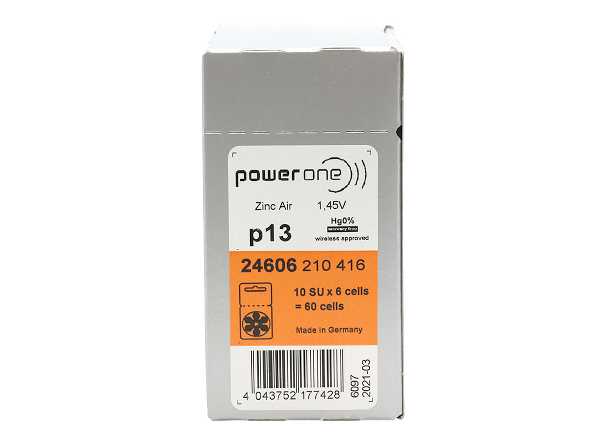 Shipping package of the Powerone P13 battery