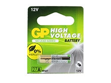 Gold Peak High Voltage 27A-BP A27 / MN27 12V Alkaline Battery - 1 Piece Tear Strip, Sold Individually