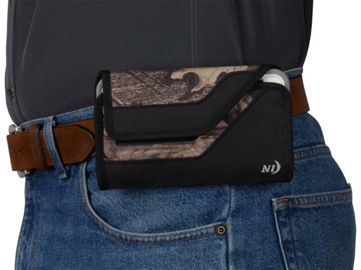 Nite Ize Sideways Holster Shown on Belt