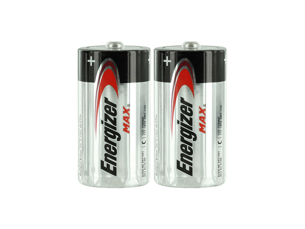E93 C Batteries Shrink-Wrapped in Sets of 2