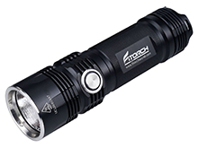 Fitorch P26R Rechargeable LED Flashlight and PowerBank - CREE XHP70 - 3600 Lumens - Uses 1 x 26650 (included)