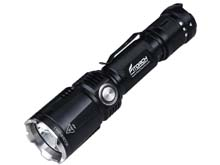 Fitorch M30R Rechargeable Tactical LED Flashlight - CREE XHP35 HD - 1800 Lumens - Uses 1 x 18650 (included) or 2 x CR123A
