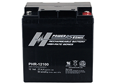 Power-Sonic AGM High Rate PHR-12100 27Ah 12V Rechargeable Sealed Lead Acid (SLA) Battery - T12 Terminal