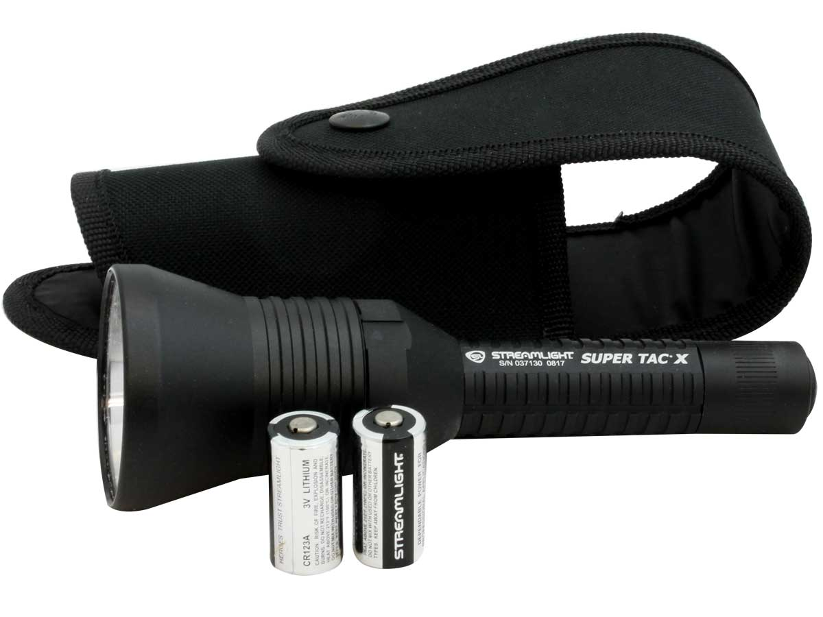 New in package Streamlight Flashlight Super Tac X 88709