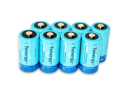 Tenergy 10200 C batteries - 8 pack