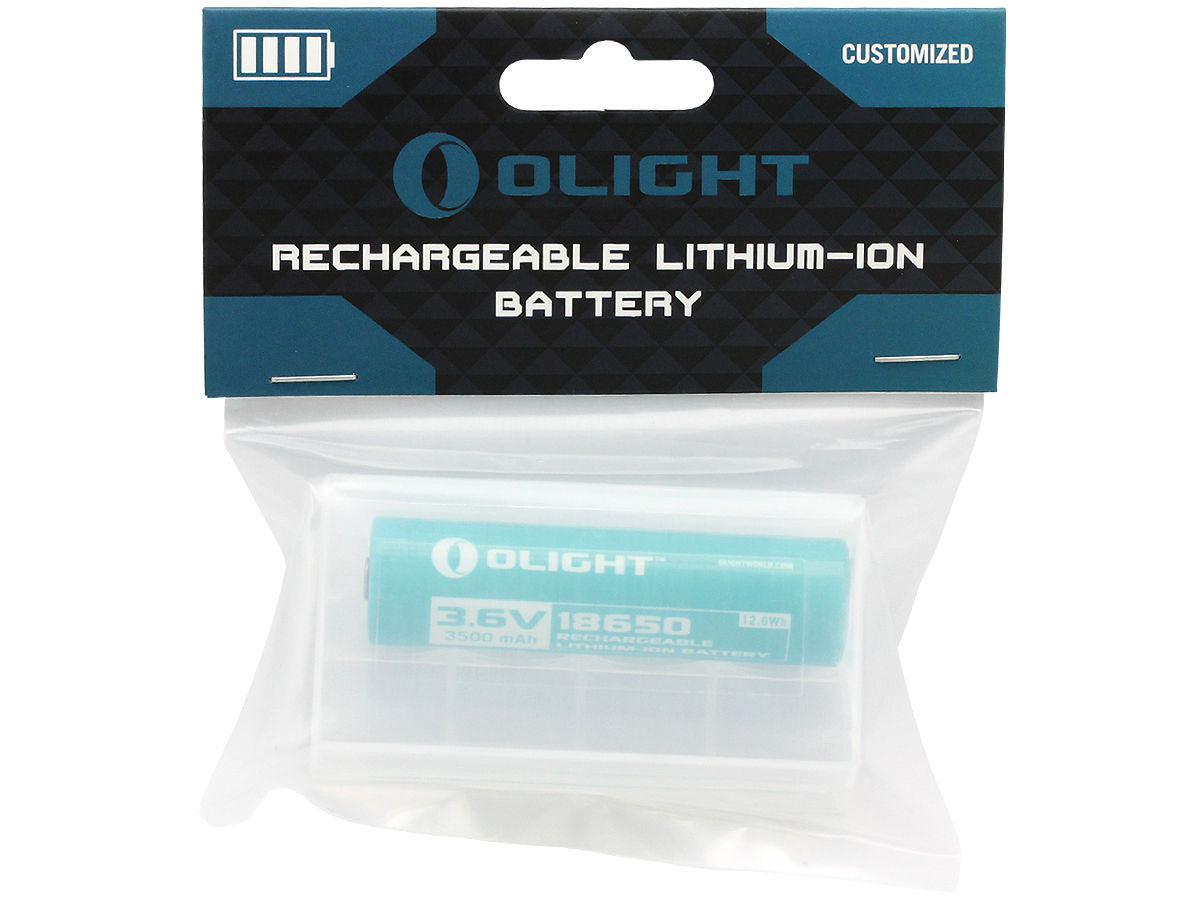 Package Shot of the Olight ORB-186C35 18650