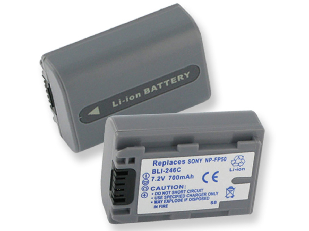 Battery pack for cameras