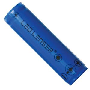 Ledlenser Li-ion flat top battery left side angle
