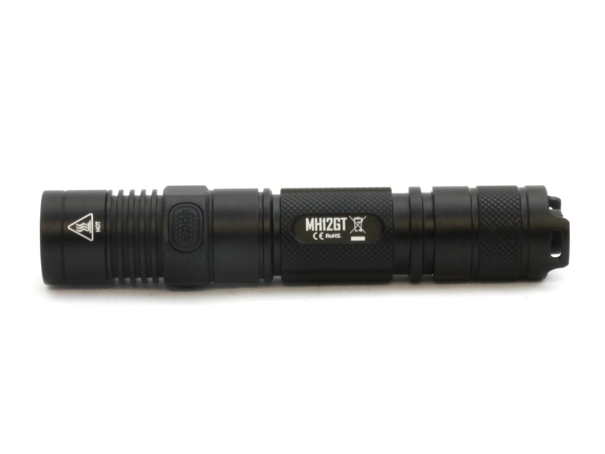 Tailcap of the Nitecore MH12GT LED Flashlight