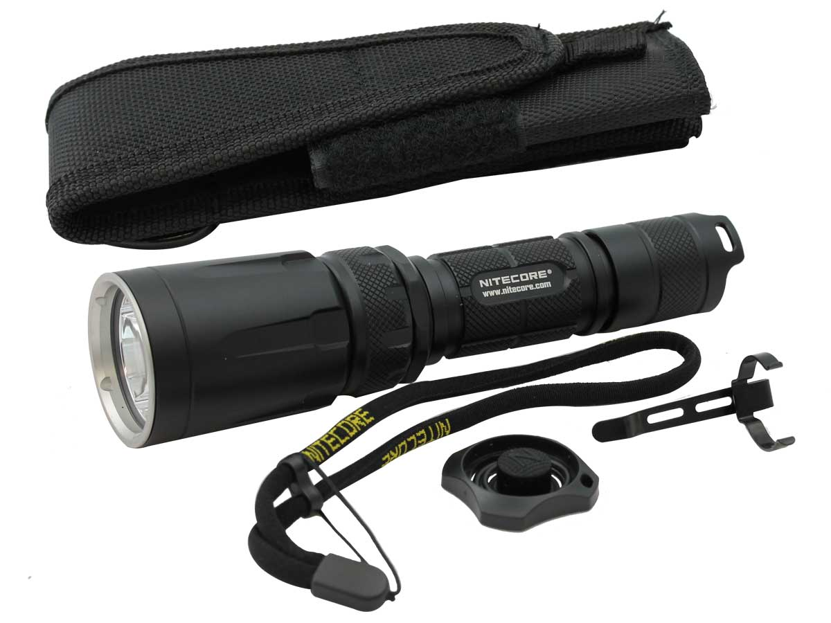 Nitecore SmartRing Tactical SRT7GT LED Flashlight with Case