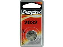 Energizer ECR2032-BP 240mAh 3V Lithium Primary (LiMNO2) Coin Cell Battery - 1 Piece Blister Pack