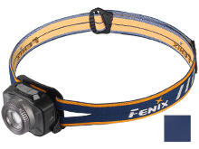 Fenix HL40R Rechargeable Focusable LED Headlamp - CREE XP-L HI V2 LED - 600 Lumens - Includes Built-In Li-Poly Battery Pack - Blue or Grey