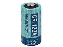 Powerizer CR123A 1300mAh 3V Lithium (LiMnO2) Button Top Photo Battery - Bulk