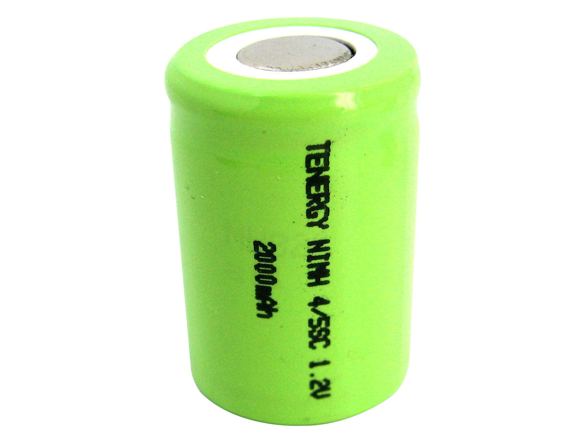 Tenergy 4/5 Sub C NiMH Battery Without Tabs
