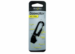 Nite Ize DoohicKey Key Tool 6-in-1 Multi-Tool - Black (KMT-01-R3)