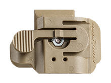 SureFire ADPT-HL1-OC Helmet Adapter for the HL1 Light - Fits Opcs Core Helmets or Helmets with an Ops Core Rail System