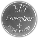 Energizer 379VZ SR521SW (1000PK) 14.5mAh 1.55V Silver Oxide (Zn/Ag20) Coin Cell Batteries - Case of 1000