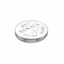 Renata 321 MP 14.5mAh 1.55V Silver Oxide Coin Cell Battery - 1 Piece Tear Strip, Sold Individually
