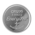 Energizer ECR1220 (1000PK) 40mAh 3V Lithium Primary (LiMNO2) Coin Cell Batteries - Case of 1000