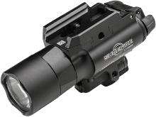 SureFire X400U-A-GN Ultra LED Weapon Light with 5mW Green Laser Sight - Universal and Picatinny Rail Mounts Fit Handguns, Long Guns - 600 Lumens - Includes 2 x CR123As