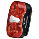 Princeton Tec Swerve Rear Bike Light - 2 x Half Watt Maxbright LEDs - Includes 2 x AAAs