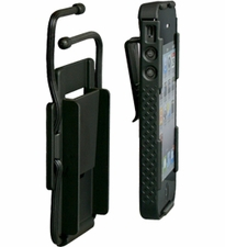 Nite Ize Connect Case and Cradle Combo Pack for iPhone 4 or 4S - Includes Gear Tie Rubber Twist Ties - Black (CNTCC-IP4-01SC)