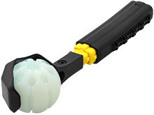 Nite Ize Huck 'N Tuck GlowStreak Collapsible Thrower and LED Ball
