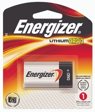 Energizer EL CRV3-BP 3000mAh 3V Lithium Primary (LiMNO2) Photo Battery - 1 Piece Retail Card