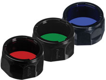 Fenix Filter Adapter for PD35, PD12, and UC40 UE - Available in Red, Green and Blue