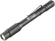 Streamlight Stylus Pro USB Rechargeable Penlight - White C4 LED - 90 Lumens - Includes Li-Ion Battery Pack - Black