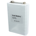 Exell 455 45V Alkaline Industrial Battery for Radios - Replaces Eveready 455, NEDA 201