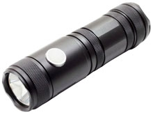 LumaPower Strive LED Flashlight  - 830 Lumens - CREE XM-L2 LED - Runs on 1x 26650 Battery