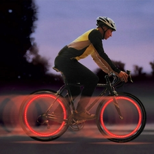 Nite Ize Flashflight Spokelit LED Wheel Light for Bikes - Includes 2 x CR2016s - Disc-o