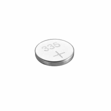 Renata 335 MP 6mAh 1.55V Silver Oxide Coin Cell Battery - 1 Piece Tear Strip, Sold Individually