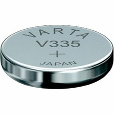 Varta 335 6mAh 1.55V Electronic Silver Oxide Coin Cell Battery (V335) - Pill Box (V20335101111)