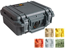 Pelican 1200 Watertight Case With Foam - Comes in 6 Colors