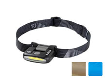 Nite Ize Radiant 170 Rechargeable Headlamp - 170 Lumens - Black, Blue, and Coyote