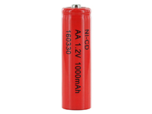 Powerizer CD AA 1000mAh 1.2V Nickel Cadmium (NiCd) Button Top Battery - Bulk