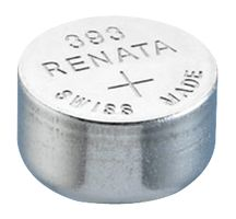 Renata 393 MP 80mAh 1.55V Silver Oxide Coin Cell Battery - 1 Piece Tear Strip, Sold Individually